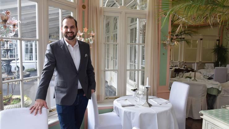 Der gebürtige Aarauer Renato Würgler empfängt seine Gäste in einem leicht renovierten «Falkenstein».