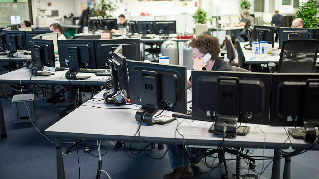 Stellenzahl in der Schweiz klettert auf Rekord von 5,14 Millionen