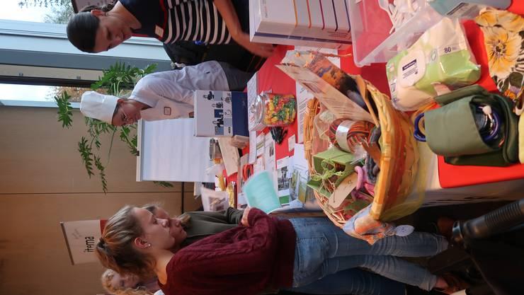 Impressionen der Lehrstellenmesse Wasseramt in Derendingen