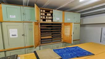 Das SLM-Archiv umfasst mehrere 100000 Originalpläne.