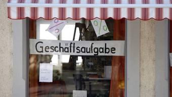 2010 wurden im Kanton Aargau ein Fünftel mehr Konkurse eröffnet als im Vorjahr.