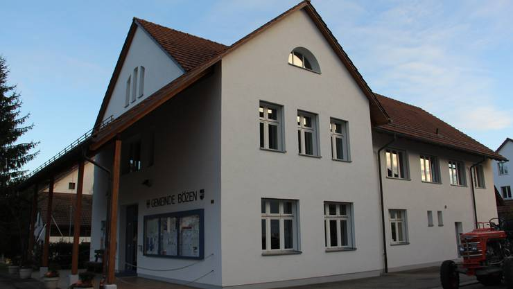 Das Gemeindehaus Bözen als möglicher Standort der neuen Kanzlei im Rahmen von Ligado.