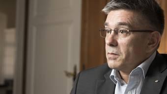 Markus Schneider, Stadtammann von Baden, 4. April 2018.