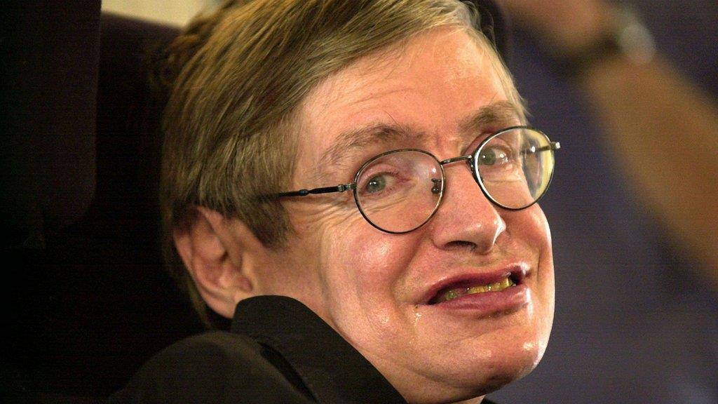 Hawkings Rollstuhl versteigert