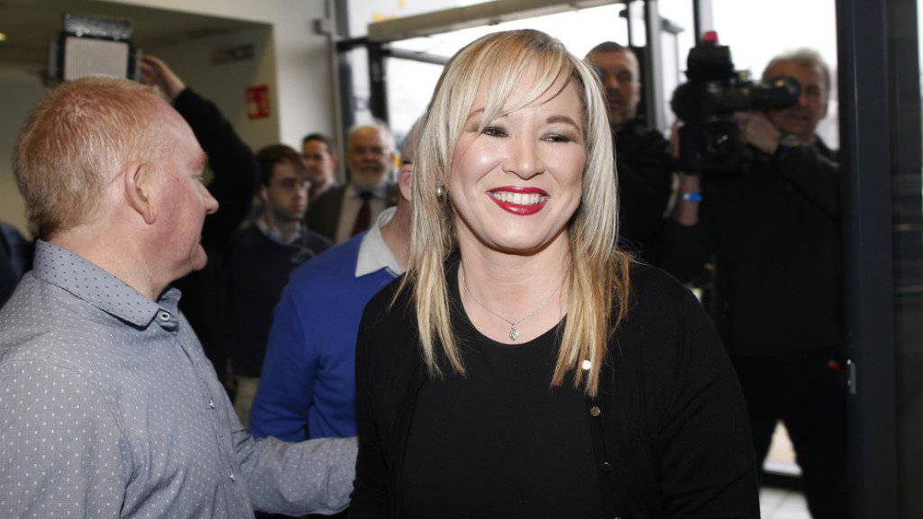 Hat sich einen Platz in dem auf 90 Sitze verkleinerten Regionalparlament gesichert: die neue Sinn-Fein-Chefin Michelle O'Neill.