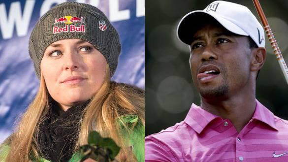 Läuft das was? Tiger Woods und Lindsey Vonn sollen ein Paar sein.
