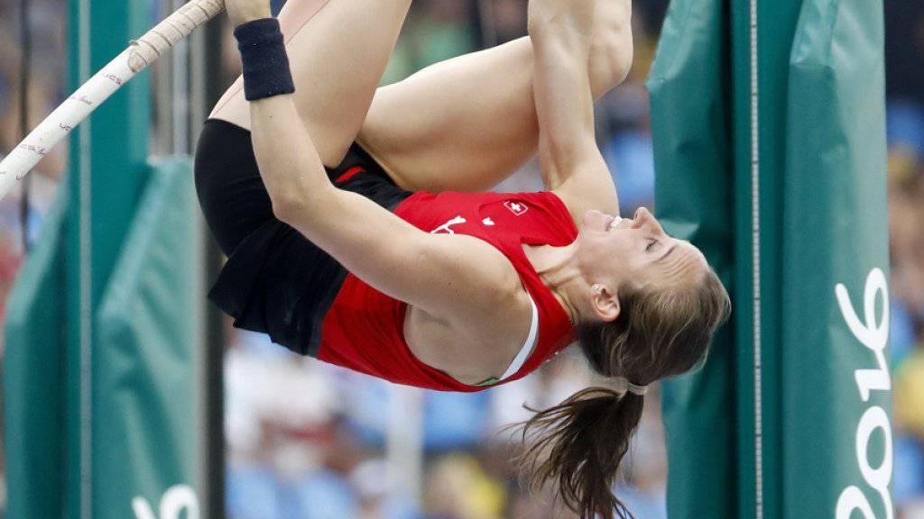 Nicole Büchler gewann in Rio de Janeiro ein olympisches Diplom