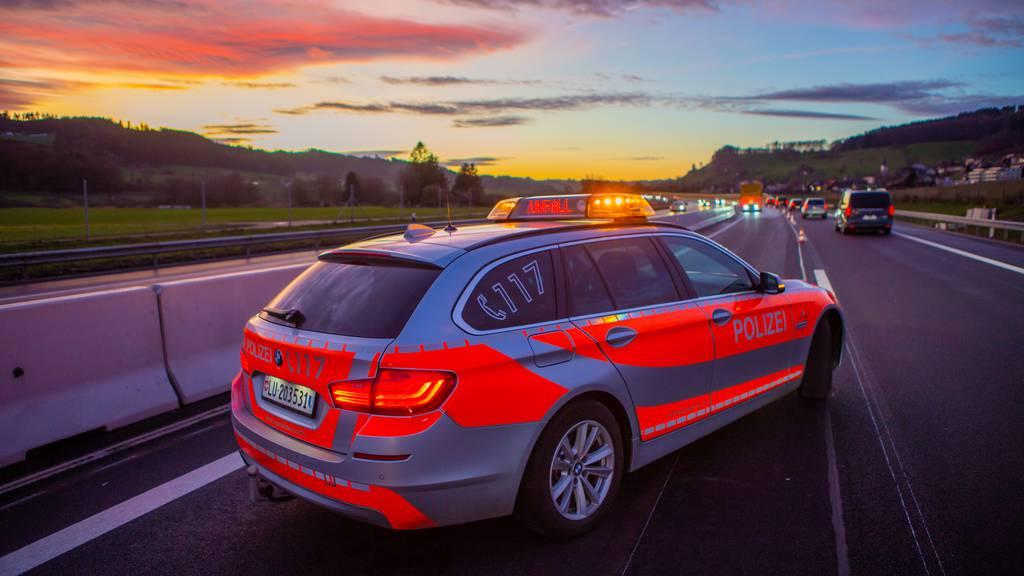 Auffahrunfall im Morgenverkehr auf A14
