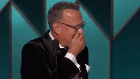 Tom Hanks emotionale Rede an den Golden Globes