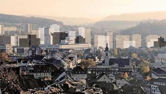 Die Bau- und Nutzungsordnung sowie das dazugehörende  Hochhauskonzept werden erst im November im Brugger Einwohnerrat behandelt.
