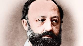 Gottfried Keller (Bild von 1863): Inspiriert von politischer Lyrik, begann er mit dem Dichten. Keystone