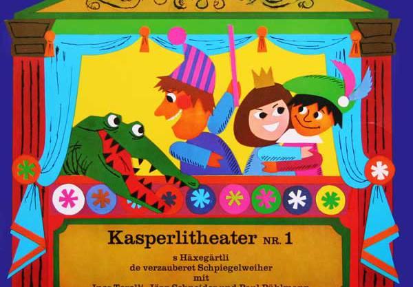 Das Cover der ersten Kasperli-Kassette