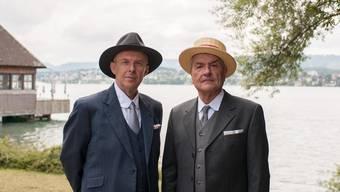 Iwan Bally (Peter Ender) und Johann Rudolf Isler (Walter Küng) sind Teil der Sonderausstellung.