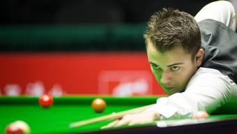Der Fricktaler Snookerprofi Alexander Ursenbacher scheitert an den UK Championship in der 3. Runde.