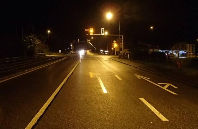 Auf dieser Kreuzung ereignete sich der Unfall.