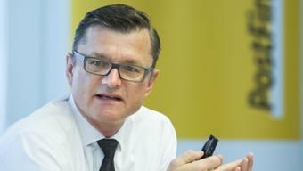 Postfinance-Chef Hansruedi König spricht gerne vom «Digital Powerhouse».
