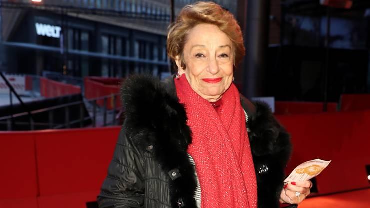 Langjähriges Engagement für den Film: die Bernerin Beki Probst erhält den Ehrenpreis des Schweizer Filmpreises. (Archivbild)
