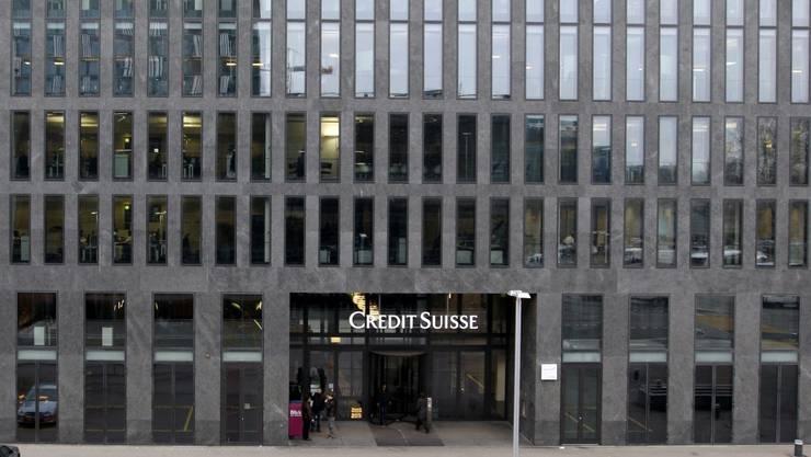 Die Credit Suisse in Zürich Oerlikon. Zusammen mit der UBS und weiteren, kleineren Banken steht sie im Fokus der US-Ermittler.  KEYSTONE