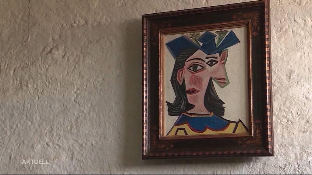 In Wettinger Stall hängt heute echter Picasso