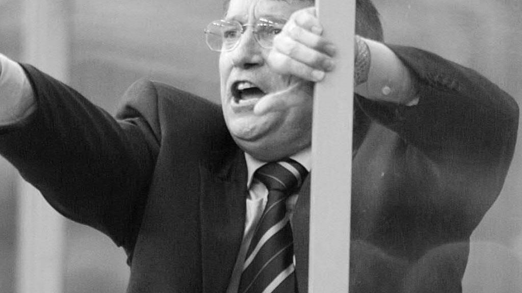 Graham Taylor (†) coachte zwischen 1990 und 1993 die englische Nationalmannschaft
