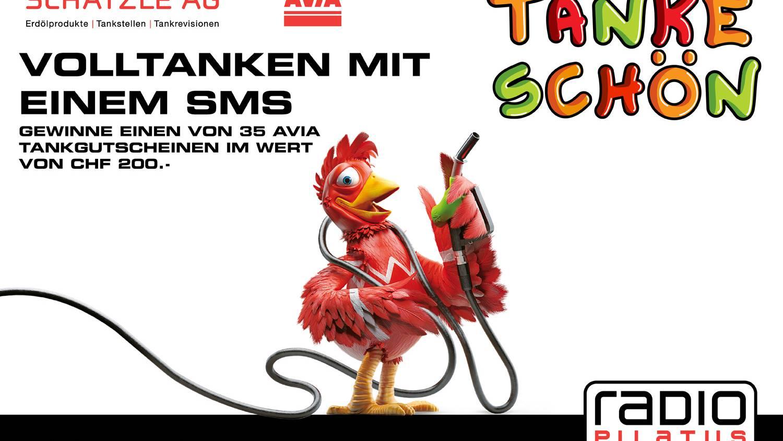 Tanke-Schön: Volltanken mit einem SMS!