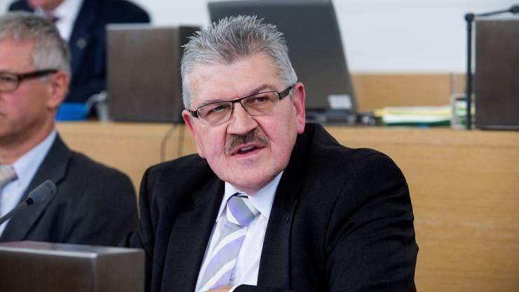 Brachte Budget fast integral durch: Roland Brogli.