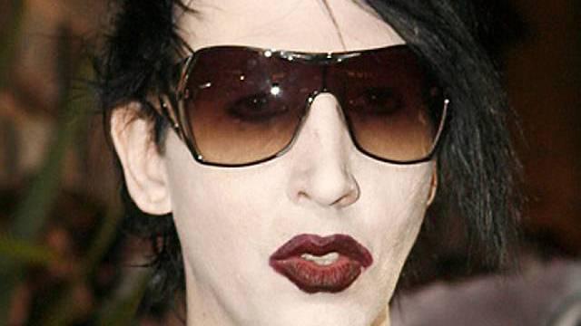 Marilyn Manson ist doch nicht an der Schweinegrippe erkrankt (Archiv)