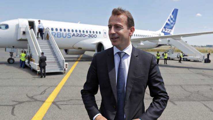 Guillaume Faury soll Chef bei Airbus werden. (Archiv)