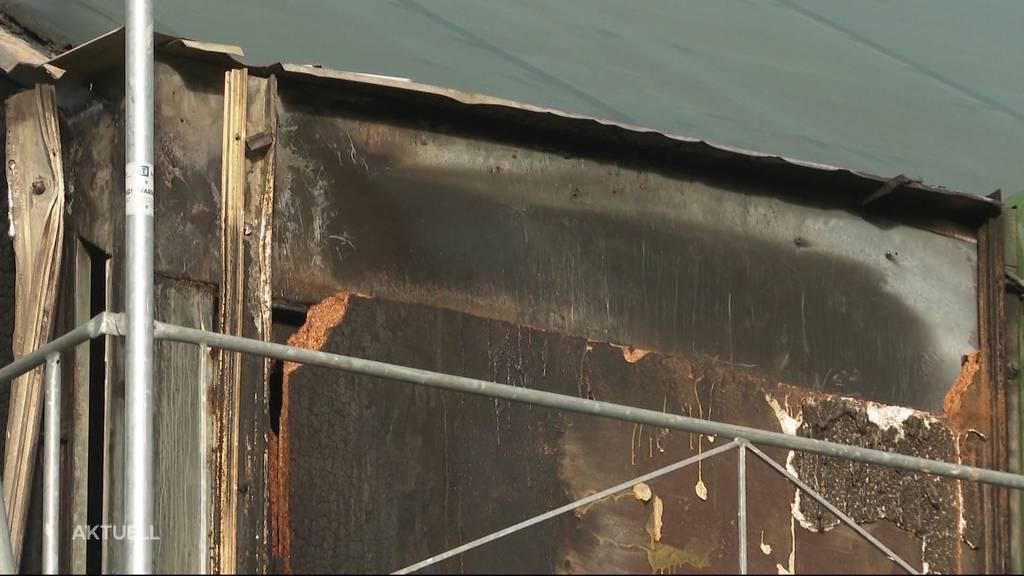 Feuer bei der Oltner Stadthalle: War es Brandstiftung?