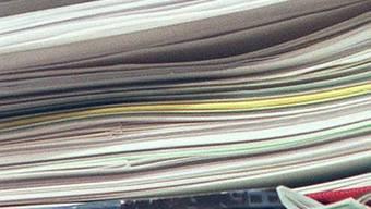 Die Finanzkommission will nur die Empfehlungen des Datenschutzbeauftragten betreffend Aufbewahrung, Löschung und Archivierung der Meldungen aufnehmen und umsetzen.  (Symbolbild)
