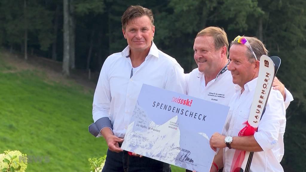 Rettung der Lauberhornrennen an 1.-August-Feier auf der Lueg besiegelt