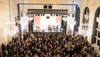 Viel Prominenz am Neujahrsempfang des Aargauischen Gewerbeverbandes