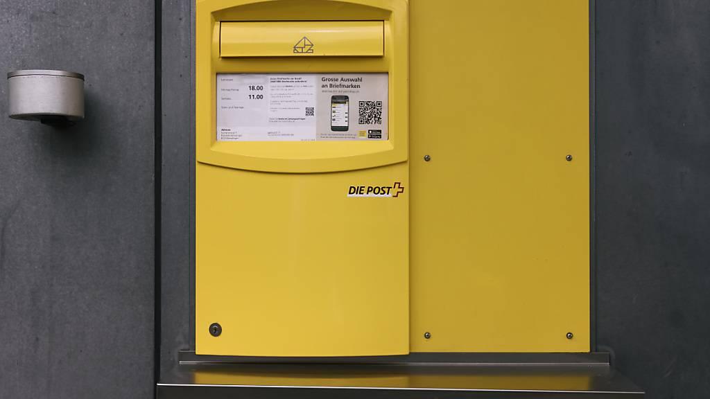 Gelbe Briefkästen werden weniger oft geleert