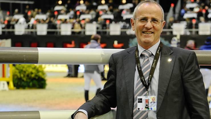 Rolf Lüdi wird in der Schweiz, wie hier am CSI Basel, künftig nicht mehr tätig sein. Carlo Stuppia