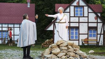 Freilichtspiel Romeo & Julia von Iris Minder