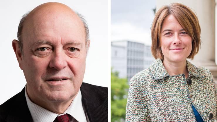 Will Petra Gössi im Bundesrat sehen: SVP-Urgestein Ulrich Giezendanner.