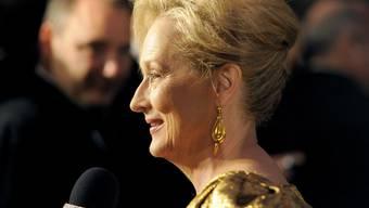 Der Schauspielerin Meryl Streep gehen die Rollen wohl kaum aus (Archiv)