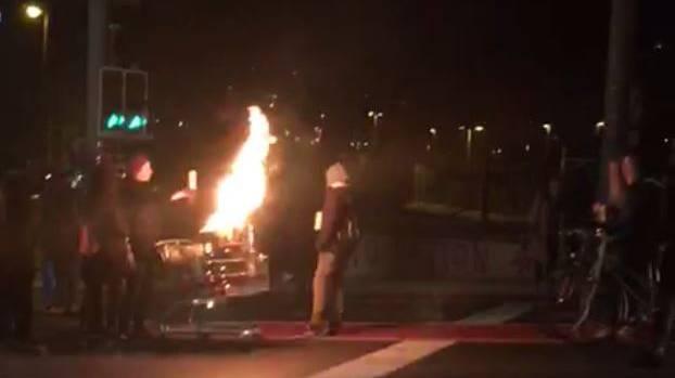 Luzern: Beschädigungen nach unbewilligter Demo