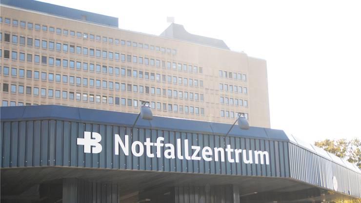 Die Notfallaufnahme des Kantonsspitals Baden.