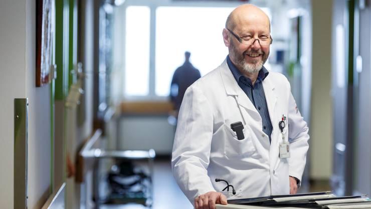 Jean-Pierre Barras war bis vor zwei Jahren Chefarzt am Bürgerspital.