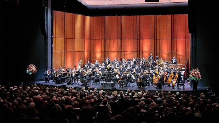 Das Sinfonieorchester Basel im Musical-Theater: Ein Teil des Stammpublikums scheut den Weg ins Kleinbasel. Benno Hunziker/zvg