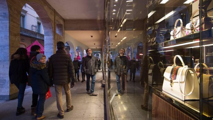 Gucci wird im Tessin dereinst nurmehr noch in den Verkaufsläden präsent sein.