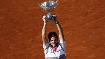 «Wawrinka gewinnt die French Open», schreit der SRF-Kommentator ins Mikrofon, als «Stan the Man» den entscheidenden Punkt macht.