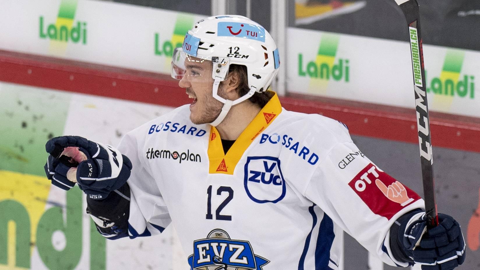 Yannik Zehnder, EVZ