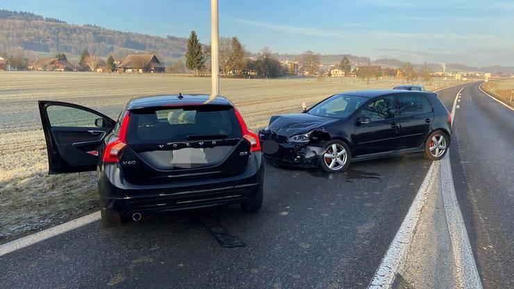Beide Lenkerinnen wurden leicht verletzt.