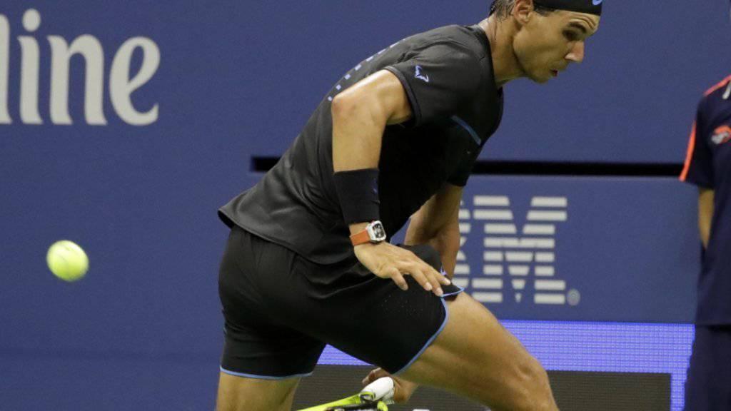 Kabinettstückchen fürs Publikum: Rafael Nadal trumpft am US Open bis jetzt gross auf