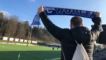 Nach dem ersten Erfolg dieses Jahr gegen Köniz wollen die Wohlen-Fans einen weiteren Sieg sehen.