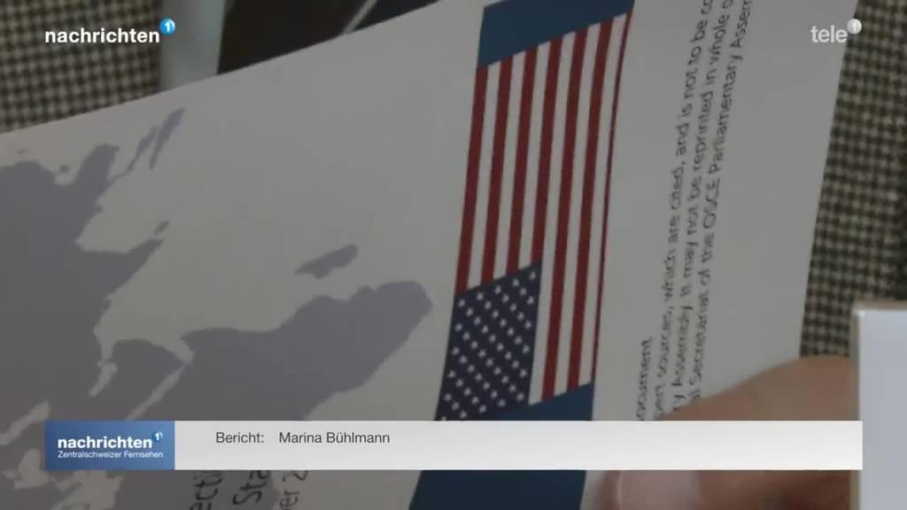Urner Ständerat fliegt als Wahlbeobachter in die USA