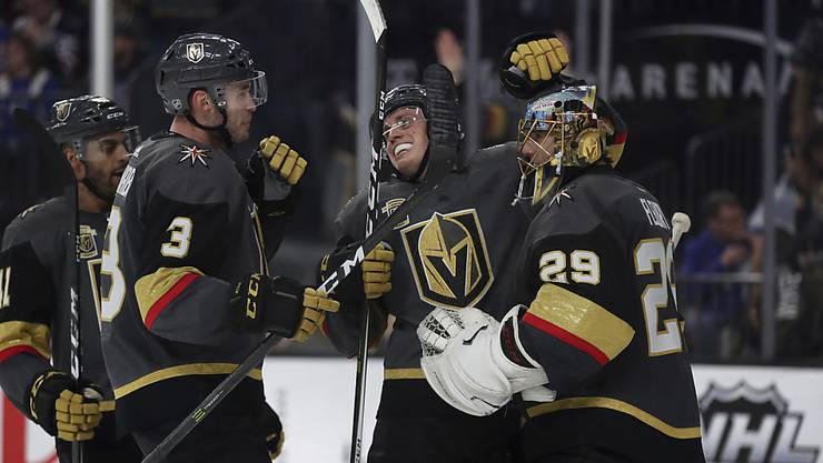 Die Vegas Golden Knights mischen derzeit die NHL ziemlich auf