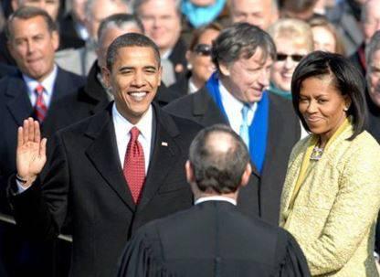 ...und als frischgebackener US-Präsident 2009.